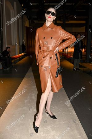 Coco Rocha in the front row