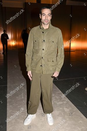 Editorial photo of Tod's show, Front Row, Fall Winter 2020, Milan Fashion Week, Italy - 21 Feb 2020