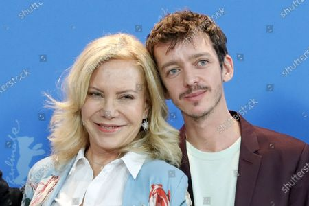 Cecilia Roth (L) and Nahuel Perez Biscayart (R) pose during the 'El Profugo' (The Intruder) photocall during the 70th annual Berlin International Film Festival (Berlinale), in Berlin, Germany, 21 February 2020. The movie is presented in the Official Competition at the Berlinale that runs from 20 February to 01 March 2020.