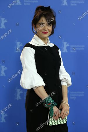 Erica Rivas poses during the 'El Profugo' (The Intruder) photocall during the 70th annual Berlin International Film Festival (Berlinale), in Berlin, Germany, 21 February 2020. The movie is presented in the Official Competition at the Berlinale that runs from 20 February to 01 March 2020.
