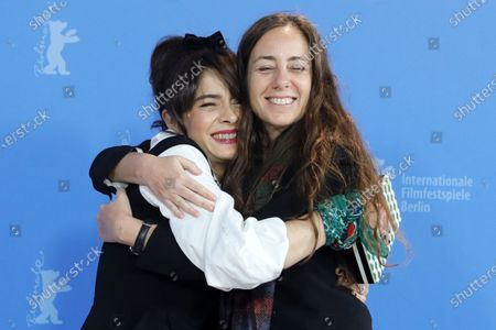 Erica Rivas (L) and Natalia Meta (R) pose during the 'El Profugo' (The Intruder) photocall during the 70th annual Berlin International Film Festival (Berlinale), in Berlin, Germany, 21 February 2020. The movie is presented in the Official Competition at the Berlinale that runs from 20 February to 01 March 2020.