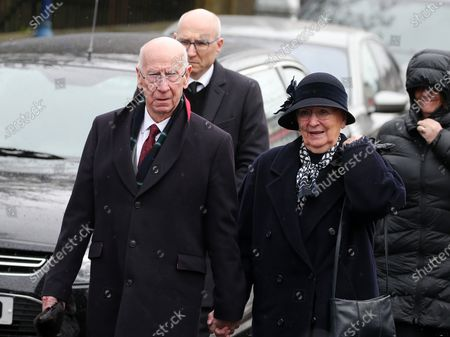 Sir Bobby Charlton and his wife Norma