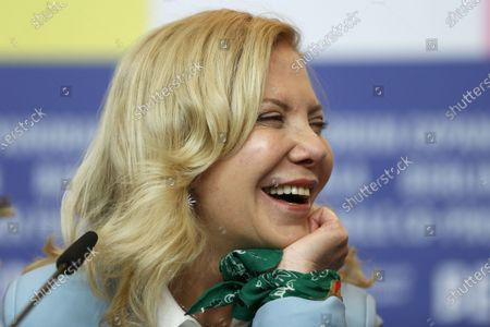 Cecilia Roth attends the 'El Profugo' press conference during the 70th annual Berlin International Film Festival (Berlinale), in Berlin, Germany, 21 February 2020. The movie is presented in the Official Competition at the Berlinale that runs from 20 February to 01 March 2020.