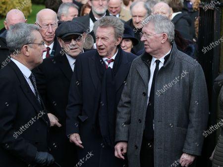Editorial photo of Goalkeeper Harry Gregg funeral, Coleraine, Northern Ireland - 21 Feb 2020
