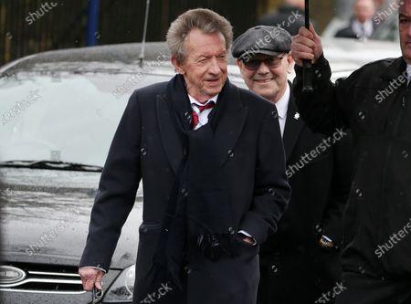Editorial image of Goalkeeper Harry Gregg funeral, Coleraine, Northern Ireland - 21 Feb 2020
