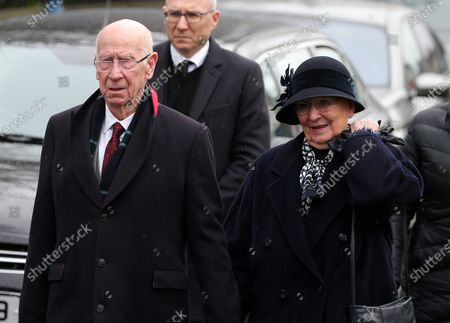 Editorial picture of Goalkeeper Harry Gregg funeral, Coleraine, Northern Ireland - 21 Feb 2020