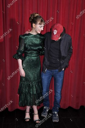 Imogen Poots and Jesse Eisenberg