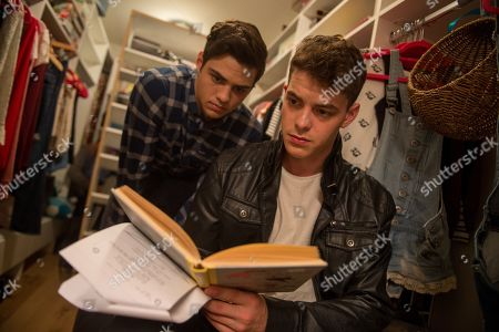 Noah Centineo as Peter and Israel Broussard as Josh
