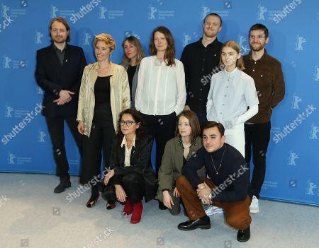 Jeanette Nordahl, Sidse Babett Knudsen, Ingeborg Topsoe, Sandra Guldberg Kampp, Elliott Crosset Hove, Joachim Fjelstrup and Besir Zeciri