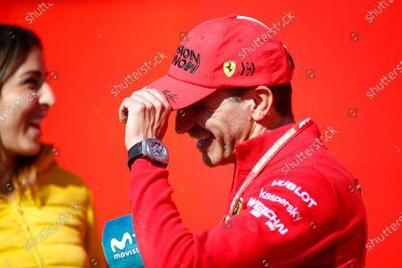 Marc Gene Sebastian of Ferrari