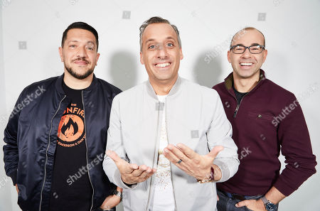 "Stock Image of Sal Vulcano, Joe Gatto, James Murray. The Impractical Jokers, Sal Vulcano, from left, Joe Gatto, and James Murray, pose for a portrait in New York, on. ""Impractical Jokers: The Movie"" releases in the U.S. on Friday"