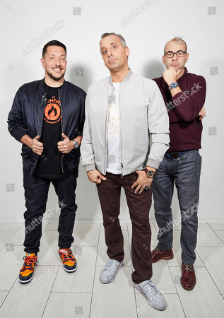 "Editorial image of ""Impractical Jokers: The Movie"" Portrait Session, New York, USA - 20 Feb 2020"