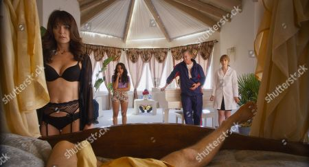 Katie Aselton as Babs, Jessica Parker Kennedy as Babysitter,  Christopher McDonald as Richard and Stephanie Drake as Dr. Bunny