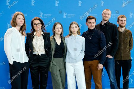 Jeanette Nordahl, Sidse Babett Knudsen, Ingeborg Topsoe, Sandra Guldberg Kampp, Besir Zeciri, Joachim Fjelstrup and Elliott Crosset Hove pose during the 'Kod and Blod (Wildland)' photocall during the 70th annual Berlin International Film Festival (Berlinale), in Berlin, Germany, 21 February 2020. The movie is presented in the Panorama section at the Berlinale that runs from 20 February to 01 March 2020.