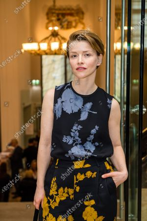 Stock Image of Karoline Schuch attends the 'FFF Bayern reception' during the 70th annual Berlin International Film Festival (Berlinale), in Berlin, Germany, 21 February 2020. The Berlinale runs from 20 February to 01 March 2020.