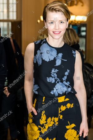Stock Photo of Karoline Schuch attends the 'FFF Bayern reception' during the 70th annual Berlin International Film Festival (Berlinale), in Berlin, Germany, 21 February 2020. The Berlinale runs from 20 February to 01 March 2020.