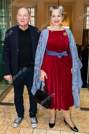 Burghart Klaussner (L) and German-Austrian actress Irina Wanka attend the 'FFF Bayern reception' during the 70th annual Berlin International Film Festival (Berlinale), in Berlin, Germany, 21 February 2020. The Berlinale runs from 20 February to 01 March 2020.
