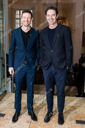 Oliver Berben (L) and Sony Pictures Managing Director Martin Bachmann attend the FFF Bayern reception' during the 70th annual Berlin International Film Festival (Berlinale), in Berlin, Germany, 21 February 2020. The Berlinale runs from 20 February to 01 March 2020.