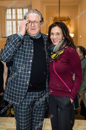 Michael Brandner and his wife Karin Brandner, attend the FFF Bayern reception' during the 70th annual Berlin International Film Festival (Berlinale), in Berlin, Germany, and the 21 February 2020. The Berlinale runs from 20 February to 01 March 2020.