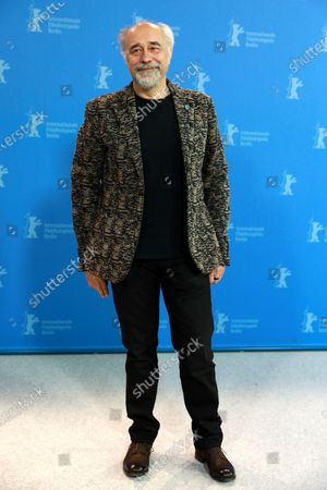 Giorgio Diritti poses during the 'Volevo Nascondermi' (Hidden Away) photocall during the 70th annual Berlin International Film Festival (Berlinale), in Berlin, Germany, 21 February 2020. The movie is presented in the Official Competition at the Berlinale that runs from 20 February to 01 March 2020.