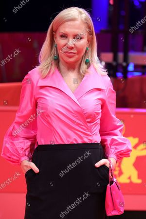 Cecilia Roth arrives for the premiere of 'El Profugo (The Intruder)' during the 70th annual Berlin International Film Festival (Berlinale), in Berlin, Germany, 21 February 2020. The movie is presented in the Official Competition at the Berlinale that runs from 20 February to 01 March 2020.
