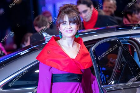 Stock Photo of Erica Rivas arrives for the premiere of 'El Profugo (The Intruder)' during the 70th annual Berlin International Film Festival (Berlinale), in Berlin, Germany, 21 February 2020. The movie is presented in the Official Competition at the Berlinale that runs from 20 February to 01 March 2020.
