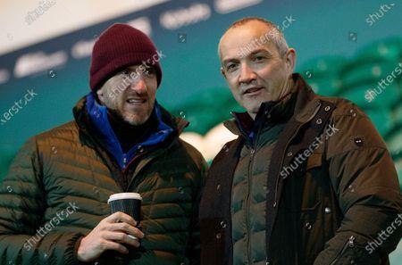 England U20 vs Ireland U20. Will Greenwood and Conor O'Shea