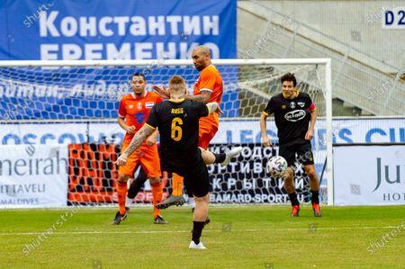 Editorial image of International Stars v Netherlands, Legends Cup, Football, Small Arena Luzhniki Stadium, Moscow, Russia - 21 Feb 2020
