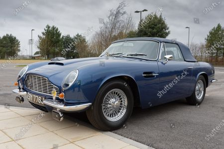 The 1960 Aston Martin DB6 Volante owned by Prince Charles