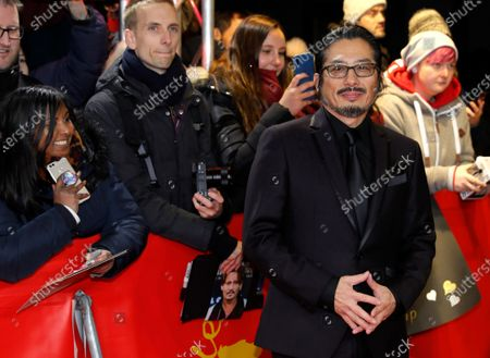 Hiroyuki Sanada arrives for the premiere of 'Minamata' during the 70th annual Berlin International Film Festival (Berlinale), in Berlin, Germany, 21 February 2020. The movie is presented in the Berlinale Special section at the Berlinale that runs from 20 February to 01 March 2020.