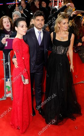 Minami, Andrew Levitas and Katherine Jenkins arrive for the premiere of 'Minamata' during the 70th annual Berlin International Film Festival (Berlinale), in Berlin, Germany, 21 February 2020. The movie is presented in the Berlinale Special section at the Berlinale that runs from 20 February to 01 March 2020.