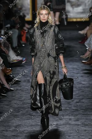Editorial picture of Etro show, Runway, Fall Winter 2020, Milan Fashion Week, Italy - 21 Feb 2020