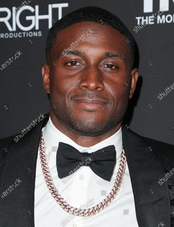 Editorial picture of Floyd Mayweather's 43rd Birthday Celebration, Arrivals, Sunset Eden, Los Angeles, USA - 21 Feb 2020