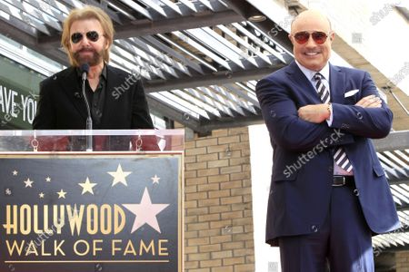 Editorial image of Dr Phil Walk of Fame star ceremony, Los Angeles, USA - 21 Feb 2020