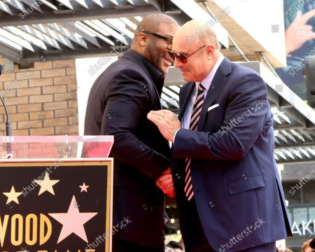 Tyler Perry and Dr Phil McGraw