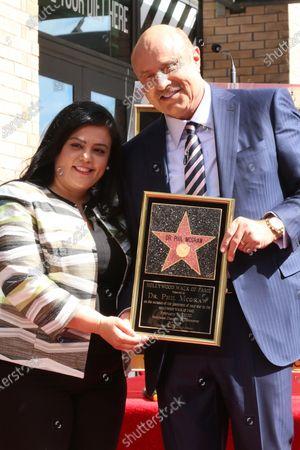 Rana Ghadban and Dr Phil McGraw