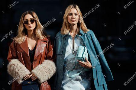 Ann-Kathrin Brommel and Mandy Bork