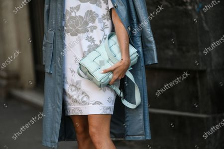 Stock Picture of Mandy Bork, bag detail