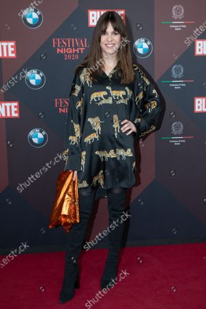Stock Picture of Natalia Avelon poses at the red carpet of Festival Night by Bunte and BMW as a part of Berlinale in Berlin, Germany, 21 February 2020.