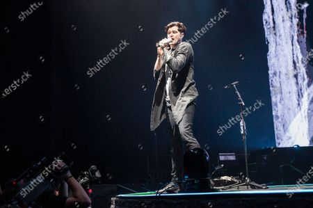 Editorial photo of The Script in concert at the First Direct Arena, Leeds, UK - 21 Feb 2020