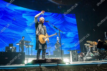 Editorial image of The Script in concert at the First Direct Arena, Leeds, UK - 21 Feb 2020