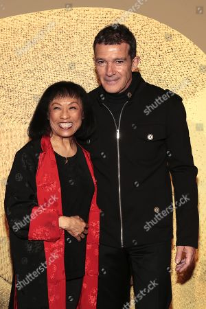 Baayork Lee and Antonio Banderas at Teatre Tivoli
