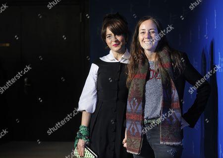 Erica Rivas and Natalia Meta