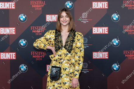 Lisa-Marie Koroll poses at the red carpet of Festival Night by Bunte and BMW as a part of Berlinale in Berlin, Germany, 21 February 2020.