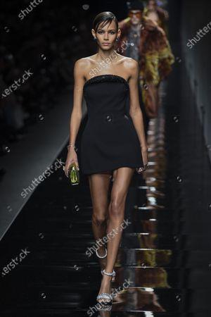 Stock Image of Binx Walton on the catwalk