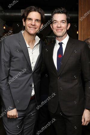 Stock Photo of Alex Timbers and John Mulaney