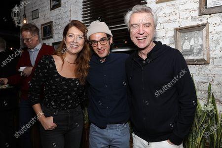 Nadia Quinn, Justin Levine and David Byrne