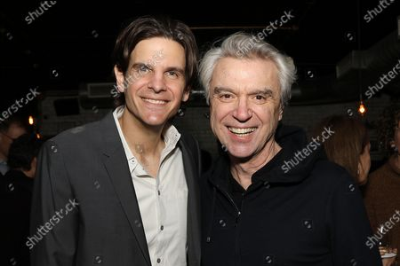 Alex Timbers and David Byrne