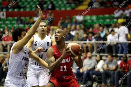 Editorial picture of Panama vs. Paraguay - 2021 AmeriCup Qualifiers, Panama City - 21 Feb 2020