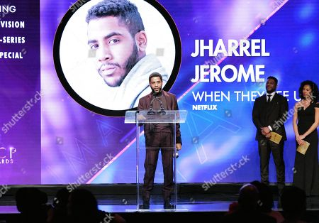 Stock Picture of Jharrel Jerome